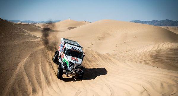 Dakarspeed gestrand tijdens Etappe 3 Dakar 2021