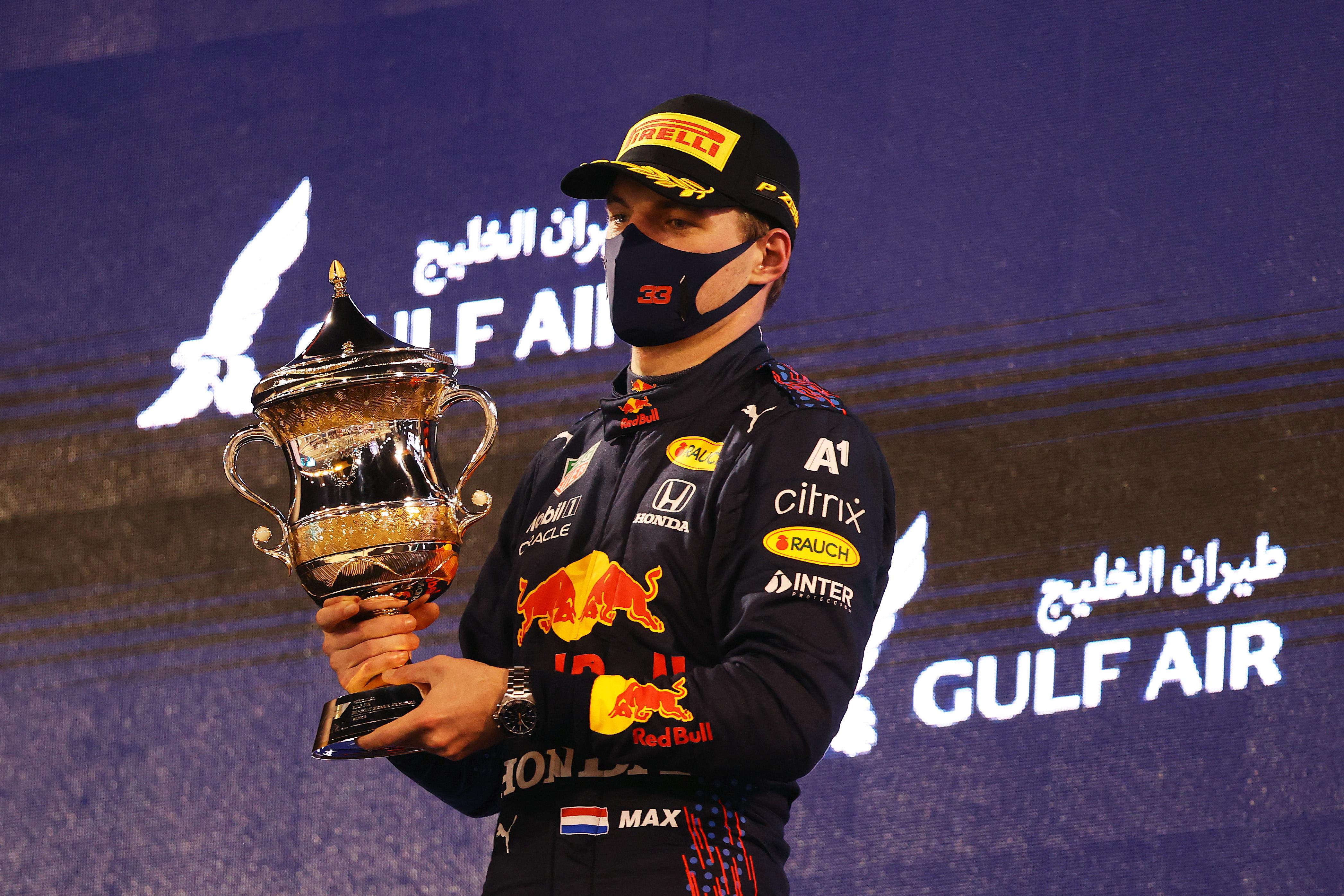 Max Verstappen tweede in GP van Bahrein: