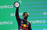 Max Verstappen tweede in GP van Spanje: