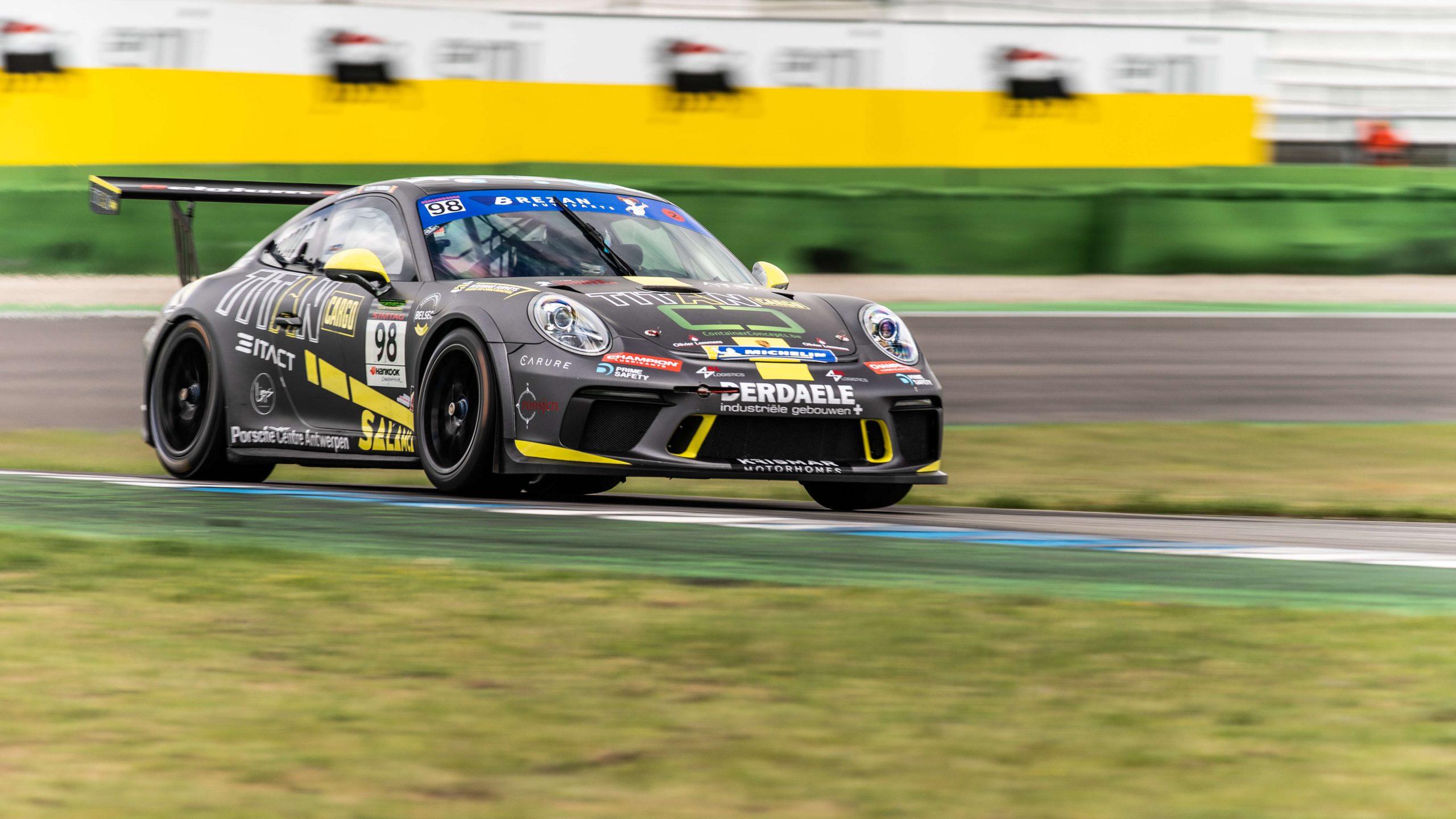 Geen twee zonder drie voor Belgium Racing tijdens Spa Euro Race?