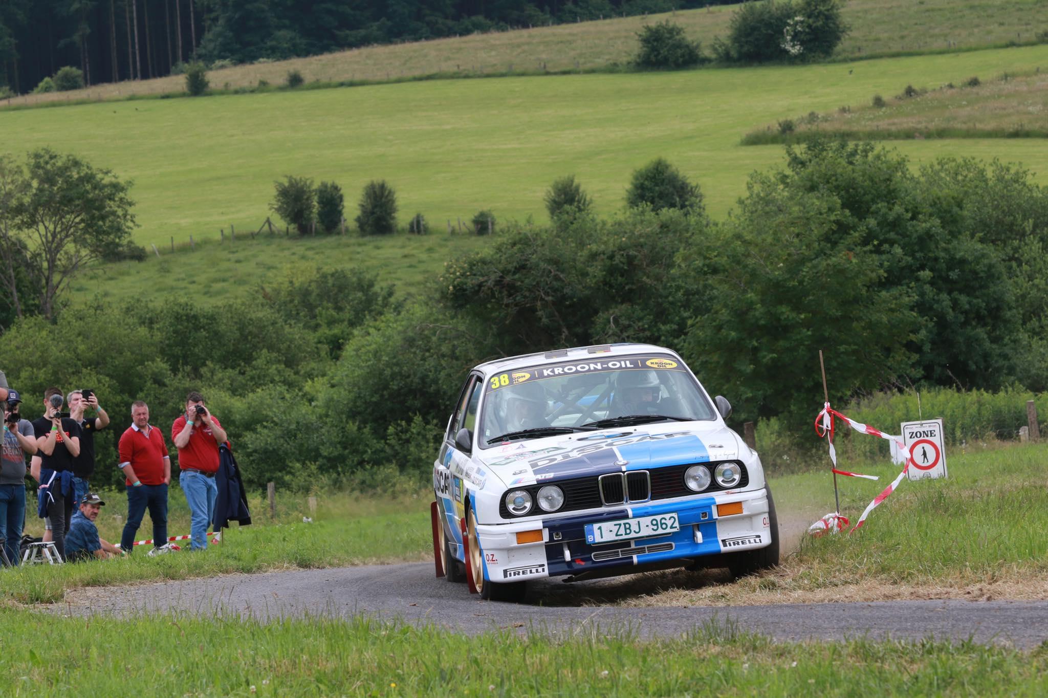 Geoffrey Leyon domineert in de South Belgian Rally