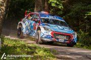 BMA succesvol in eerste Belgische WRC manche