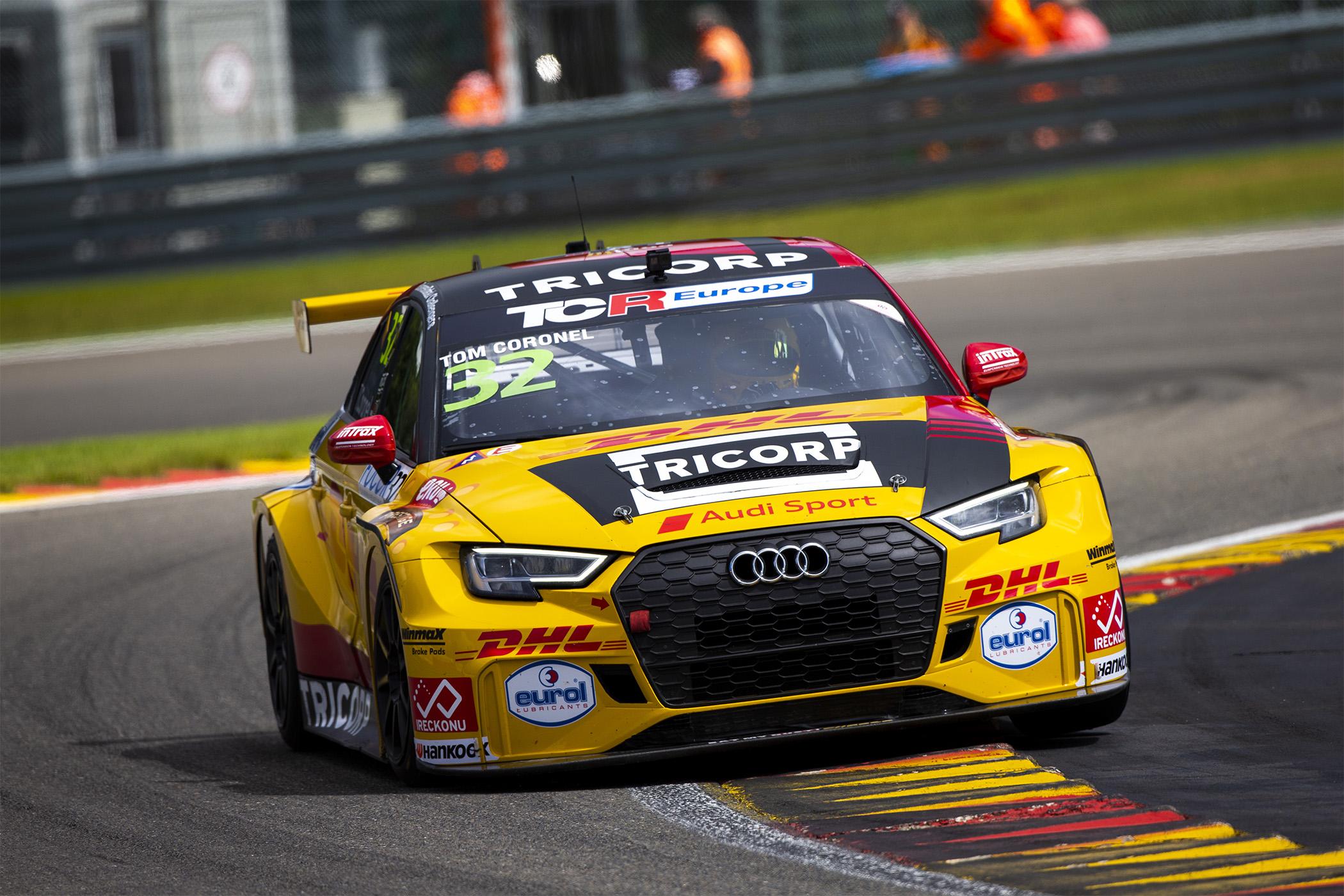 Twee tiende plaatsen op Spa-Francorchamps maximaal haalbare voor Tom Coronel