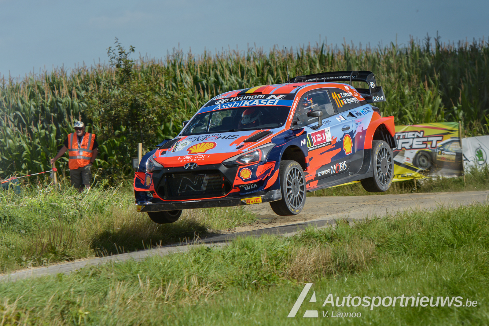 Foto's online WRC Ypres Rally 2021